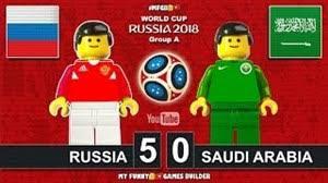 خلاصه بازی روسیه و عربستان در جام جهانی